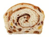 изюминка циннамона хлеба свернула Стоковое Изображение