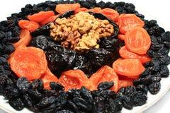 изюминки высушенные абрикосами nuts Стоковые Изображения RF