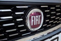 01 из августа 2017 - Vinnitsa, Украины - логотип FIA бренда Стоковая Фотография