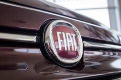 01 из августа 2017 - Vinnitsa, Украины - логотип FIA бренда Стоковое Фото