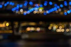 Из вида на город фокуса Стоковое Фото