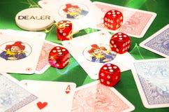 Изделия играть в азартные игры Стоковая Фотография RF