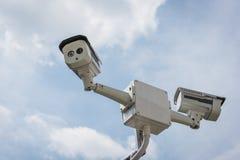 2 из камеры слежения CCTV Стоковое Изображение