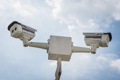 2 из камеры слежения CCTV Стоковые Фото