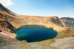 5 из 7 озер гор Rila Стоковая Фотография