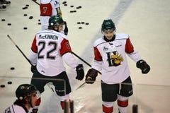 2 из перспектив проекта NHL топ-3 Стоковое Изображение