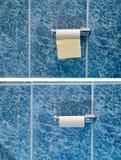 Из туалетной бумаги стоковые изображения rf