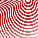 Излучать картину кругов Творческая monochrome предпосылка в squ Стоковые Изображения RF