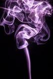 Излучающий дым сада на черной предпосылке Стоковые Фотографии RF