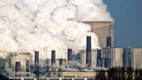 Излучение электростанции стоковое изображение rf