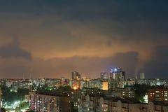 Излучения дыма на рафинадном заводе Стоковые Фото
