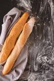 2 из французского багета Стоковое фото RF