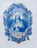 Иисус в плитках Стоковая Фотография