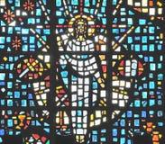 Иисус в стекле Стоковые Изображения