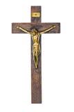 Иисус на кресте Стоковое Фото