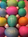 Иисус причина на сезон праздника пасхи Стоковое Изображение