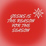 Иисус причина на сезон стоковые фото