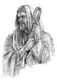 Иисус проповедник влюбленности бесплатная иллюстрация