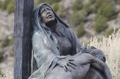 Иисус умер для нас Стоковая Фотография