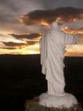 Иисус управляя Солнцем Стоковое Изображение