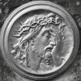 Иисус Христос в кроне терниев Стоковая Фотография