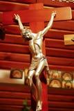 Иисус Христос на кресте Стоковые Изображения