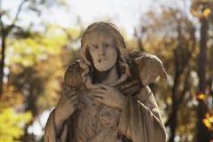 Иисус Христос - хороший чабан Стоковое Изображение RF