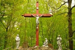 Иисус Христос Crucification Стоковое Изображение RF