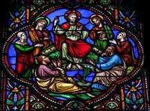 Иисус sermoning стоковые фотографии rf
