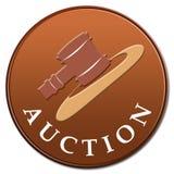 икона аукциона Стоковая Фотография