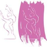 икона балета Стоковые Фото