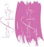 икона балета Стоковое Изображение RF