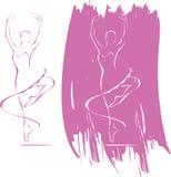 икона балета Стоковое Фото