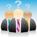 икона бизнесмена Стоковая Фотография