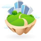 икона города Стоковое фото RF