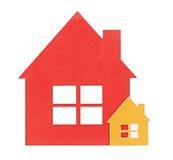 Икона дома стоковые изображения