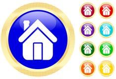 икона дома Стоковое фото RF