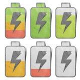 икона зарядки аккумулятора Стоковое Изображение RF
