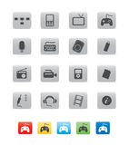 икона коммерции cube03 Стоковые Изображения
