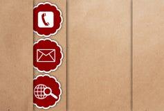 икона контакта мы стоковое изображение rf