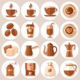 Икона кофе иллюстрация штока