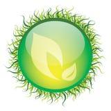 Икона листьев Стоковые Фотографии RF