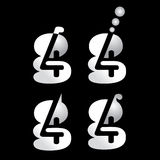 икона логоса 4g Стоковая Фотография