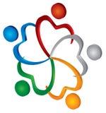 икона общины Стоковая Фотография RF