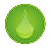 икона падения круга Стоковое Фото