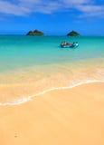 икона пляжа мечт тропическая стоковые изображения