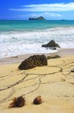 икона пляжа Стоковое Фото