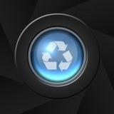 икона рециркулирует освежает Стоковое фото RF