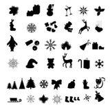 икона рождества Стоковое Изображение