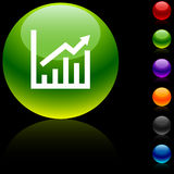 икона роста Стоковая Фотография RF